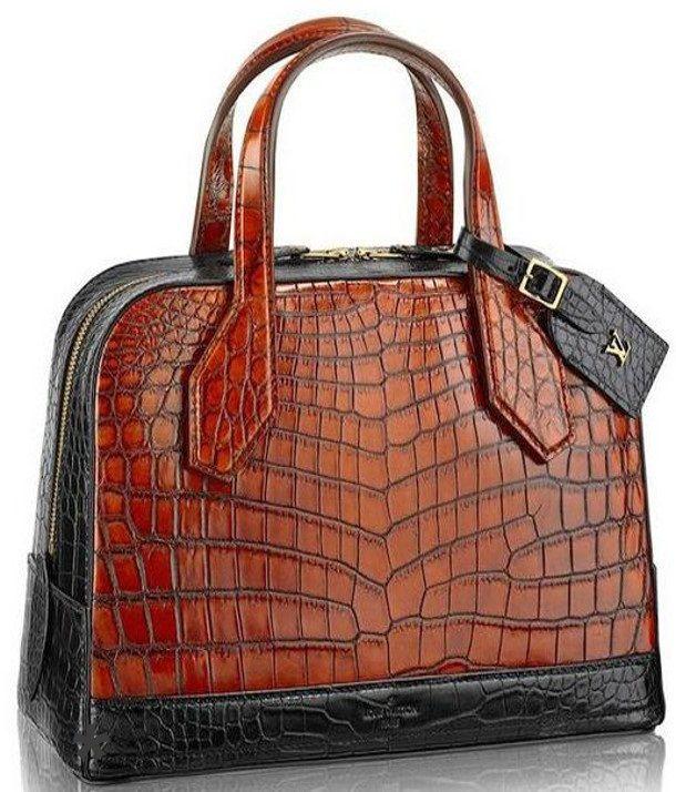 Emmy DE * Louis Vuitton Crocodile Lady Bag PM Fall 2014