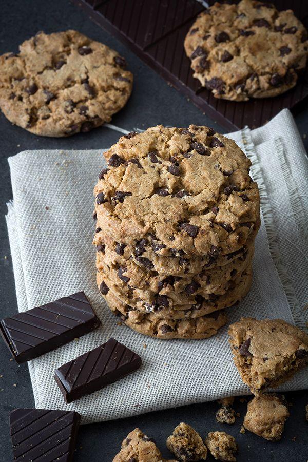 Biscuits aux brisures de chocolat - Châtelaine