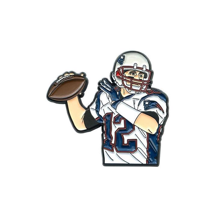 Repost @dejapins  Trying something new here. NFL season starts tonight! Brady pin and another #12 are on the site right now! Link in bio. #dejapins #pingame #pin #pins #pingamestrong #enamelpin #enamelpins #tombrady #patriots #newenglandpatriots #newengland #nfl #football    (Posted by https://bbllowwnn.com/) Tap the photo for purchase info.  Follow @bbllowwnn on Instagram for the best pins & patches!