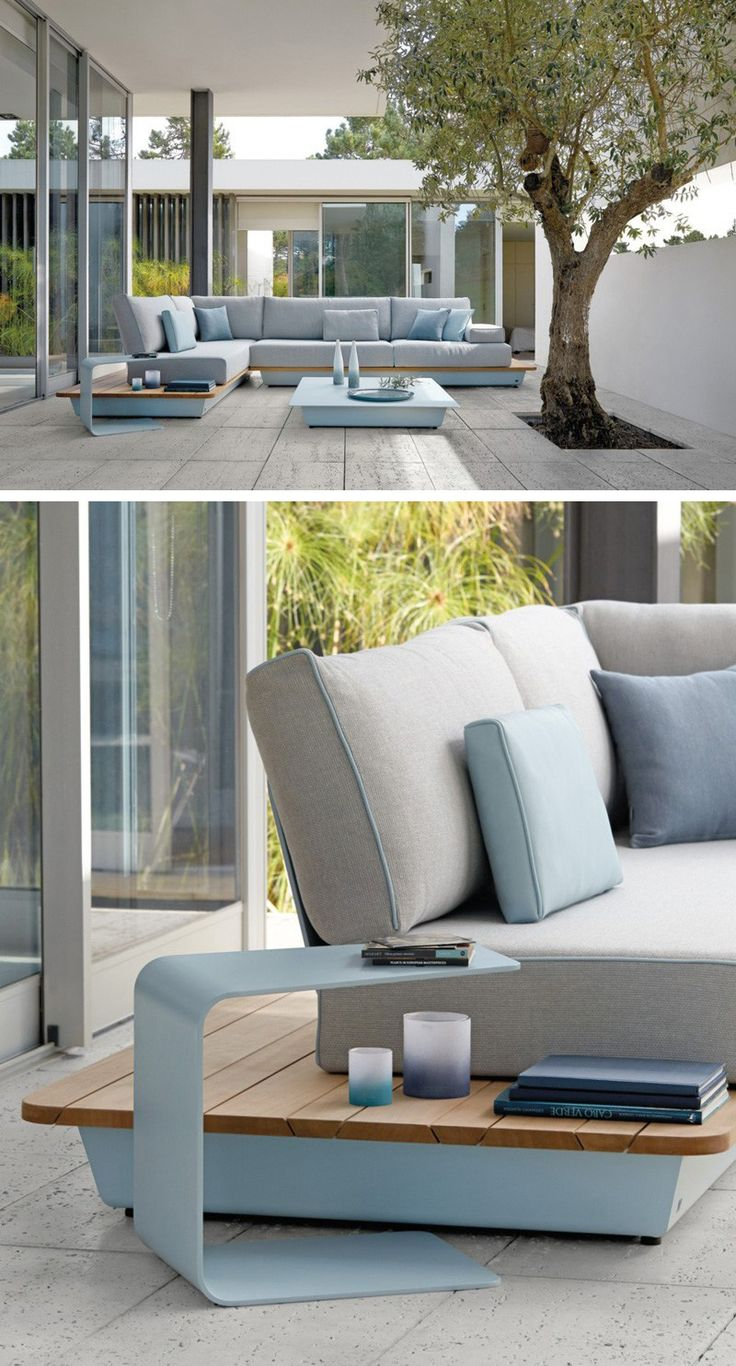 manutti have recently launched some new colors for their air collection of modular outdoor furniture - Outdoor Designer Furniture