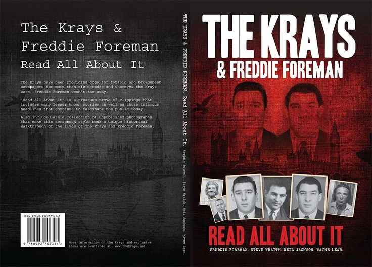 The Krays & Freddie Foreman: Read All About It