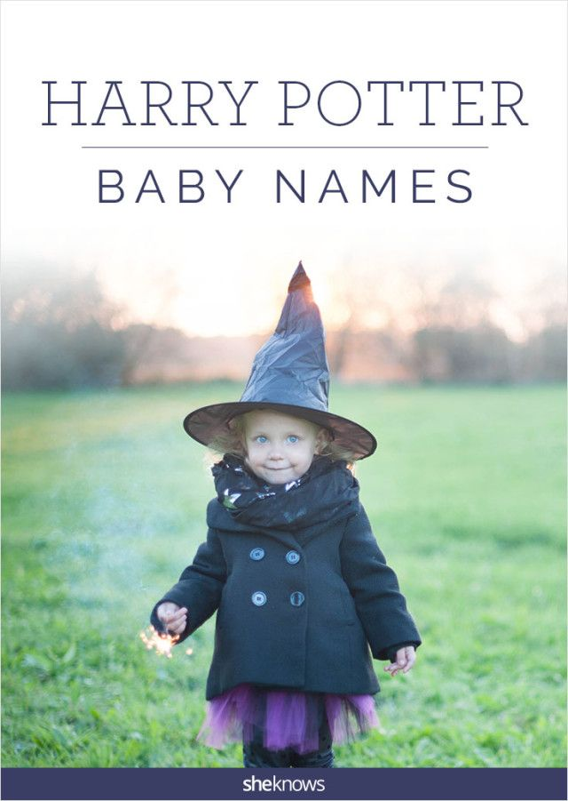 Hogwarts grads take note! Adorable baby names from the pages of Harry Potter!!
