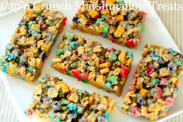 captain crunch bars!