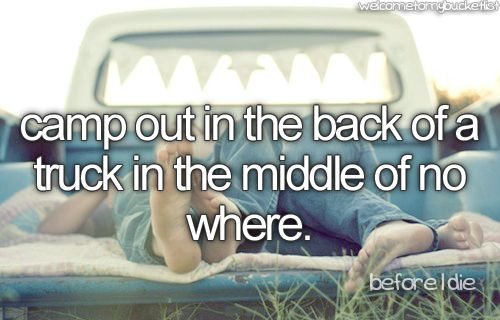 : Trucks, Under The Stars, Best Friends, Dreams, Country Girls, Before I Die, Camps, Summer Buckets Lists, Summer Night