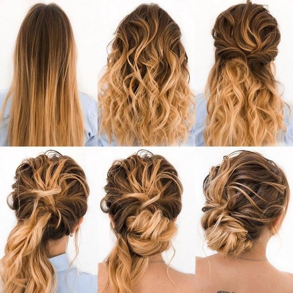 34 Diy Hairstyle Tutorials For Wedding And Prom Hair Tutorial Hair Styles Long Hair Styles
