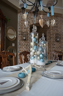 221 best a blue & silver christmas. images on Pinterest ...