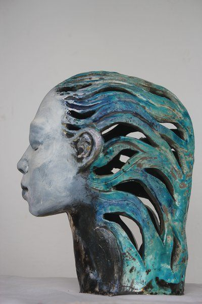 Nakazzi Hutchinson - Aquarius - From the RAKU Kiln