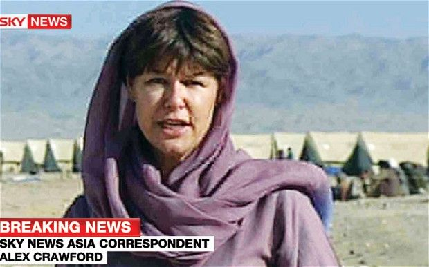 Sky's Alex Crawford on women reporting from war zones