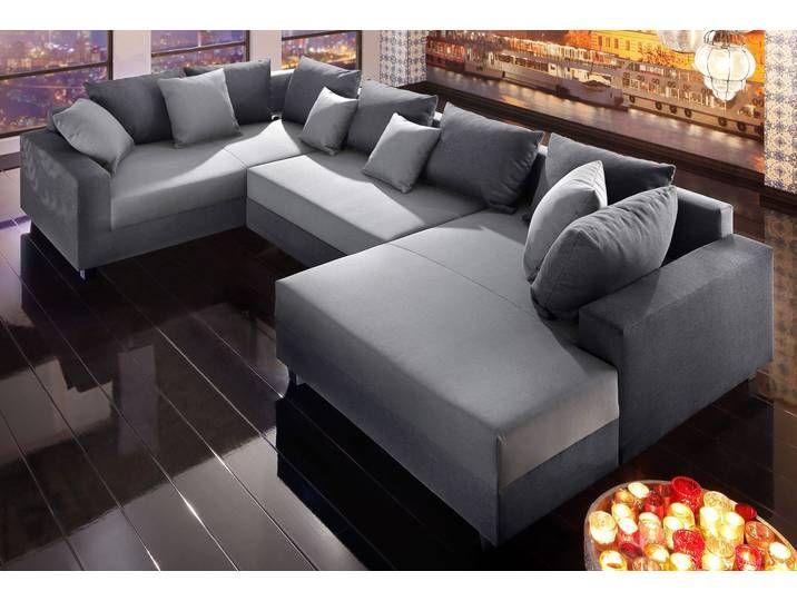 Trendmanufaktur Wohnlandschaft Grau Komfortabler Federkern Fsc Zer In 2020 Sectional Sofa Outdoor Sectional Couch