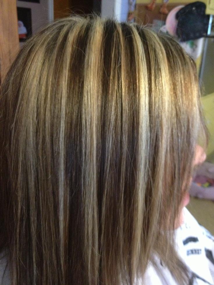 Heavy Blonde Foiled Hilites Hair Pinterest