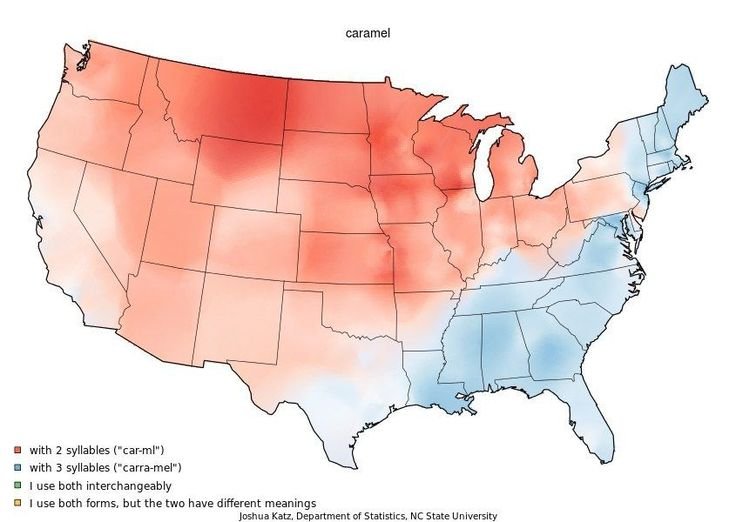 How Does Your State Pronounce Caramel