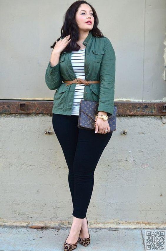 12 outfits de invierno para chicas curvy #curvygirl #curvyfashion