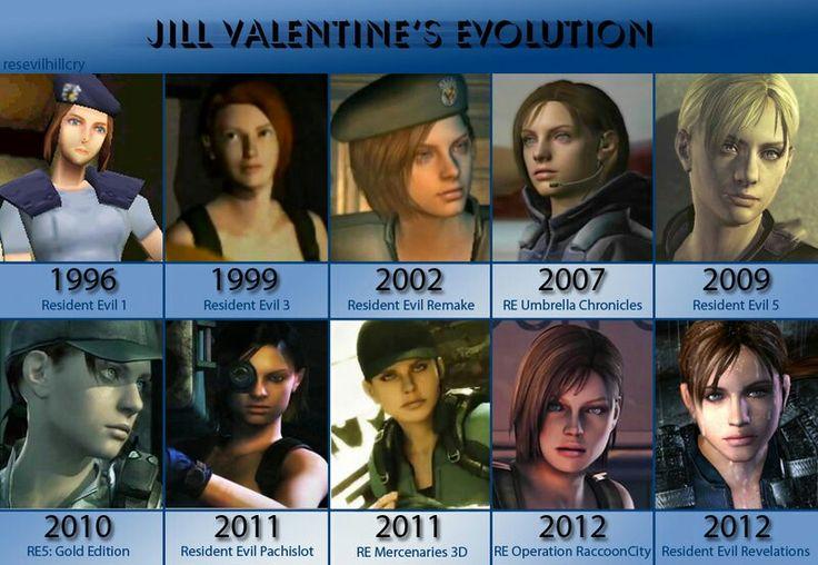 jill valentine evolution