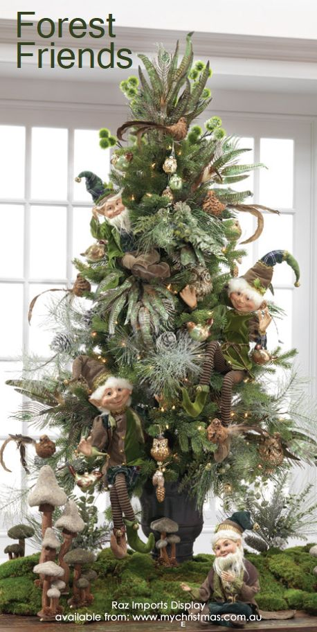 Christmas Trees By Robert Frost Part - 40: Love This Elf Tree)