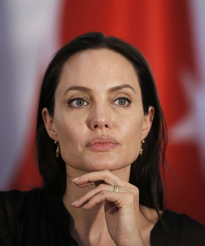 Angelina Jolie's Powerful Words About The Crisis You Should Care About #refinery29 http://www.refinery29.com/2016/03/106074/angelina-jolie-un-lebanon-speech-syrian-refugees