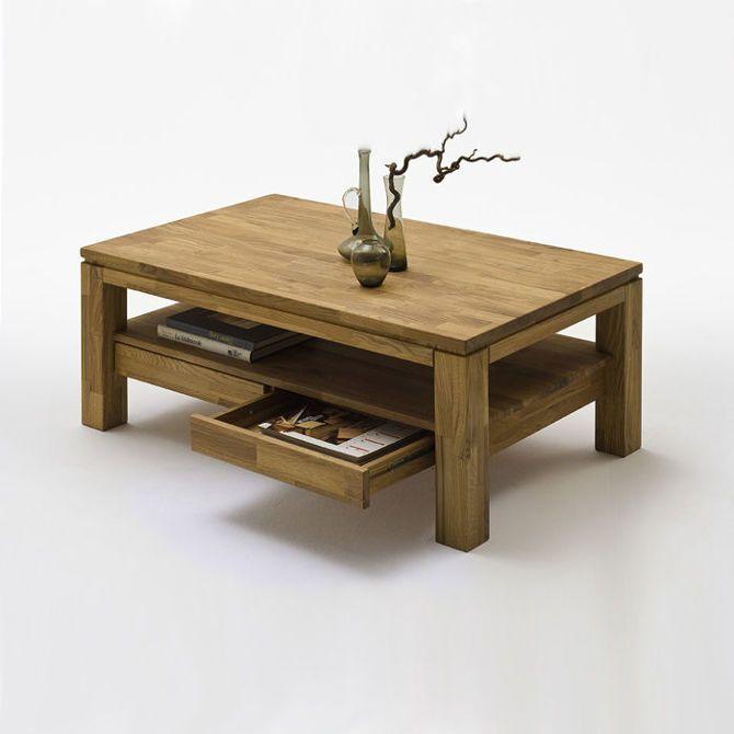1589 PLN Ramzej dębowy stolik kawowy z dwoma szufladami