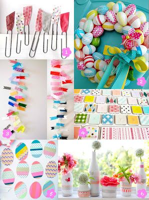 DIY Ideas With Masking Tape..