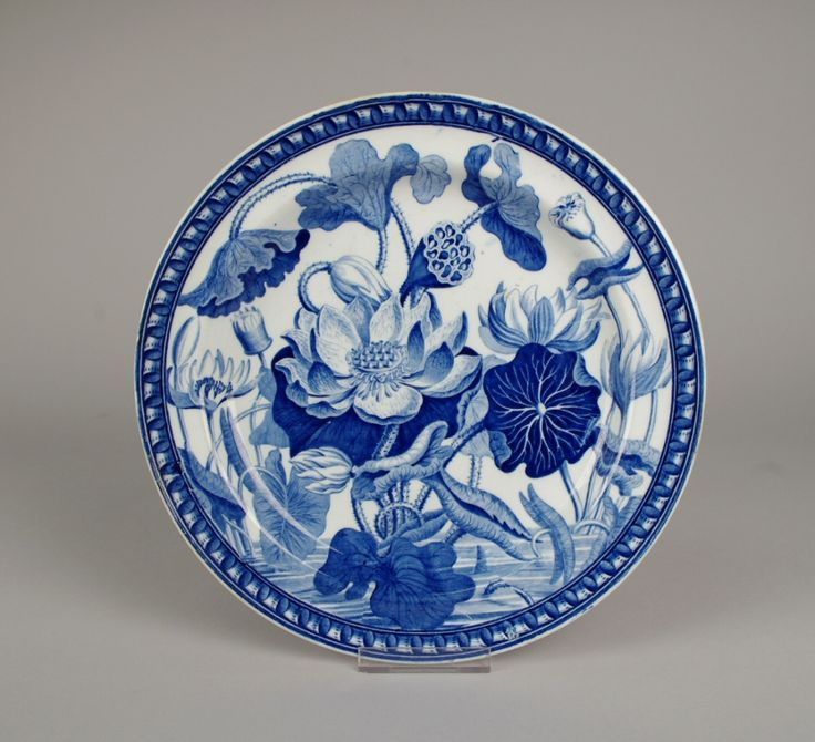 Wedgwood Pearlware Water Lily Plate