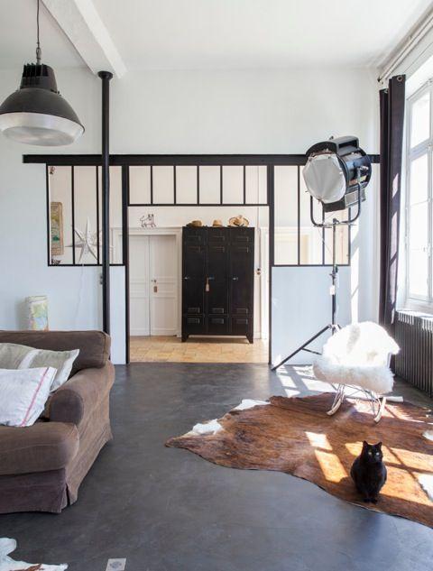 124 best Verrière images on Pinterest Room dividers, Sweet home - renovation electricite maison ancienne