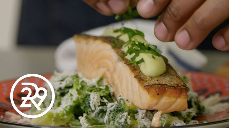 Chef Roble's Quick And Healthy Salmon Dinner
