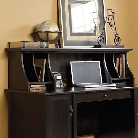 Edge Water Computer Desk with Hutch - Sauder Office Furniture