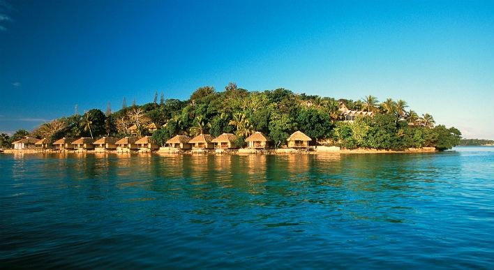 Island bliss...Iririki Island Resort, Vanuatu  www.islandescapes.com.au