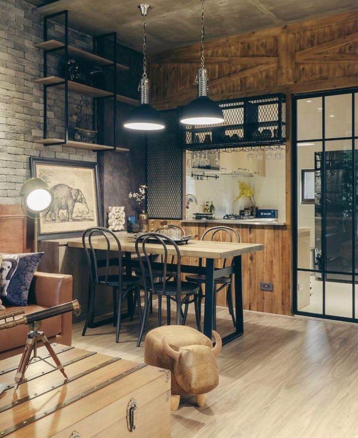 Loft Interior Design Architecture Interior Design Dinner
