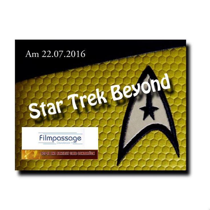 Der SciFi und Fantasy Club Osnabrück, freut sich auf die Premiere von Star Trek Beyond.  Unser Club wird mit einem Infostand vor Ort sein und freut sich auf euch!  #SciFanOs #StarTrekBeyond #Filmpassage