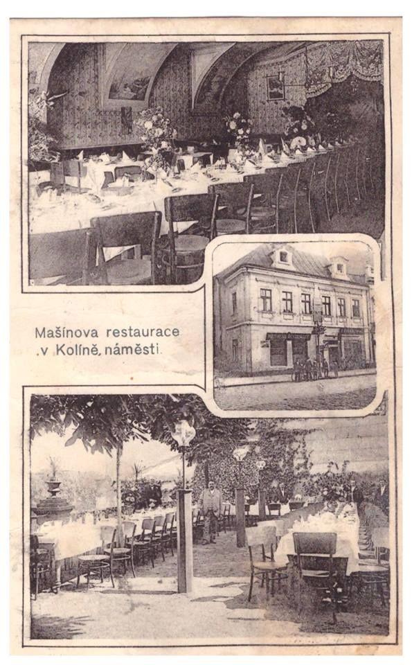 Mašínova restaurace v Kolíně   FB Miloslav Švec