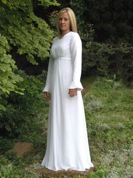 Customized wedding dresses temple ready bridesmaid dresses for Temple ready wedding dresses