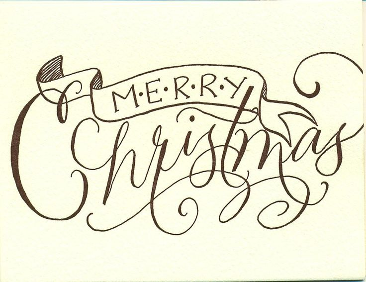 46 best Holiday Calligraphy images on Pinterest | Calligraphy ...