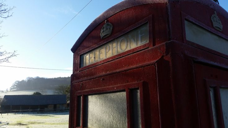 Another frosty morning!  #frosty #phonebox