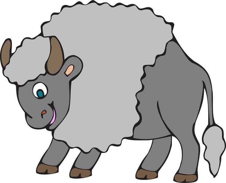 Oxen Furry Cute Big Horns Tail transparent image