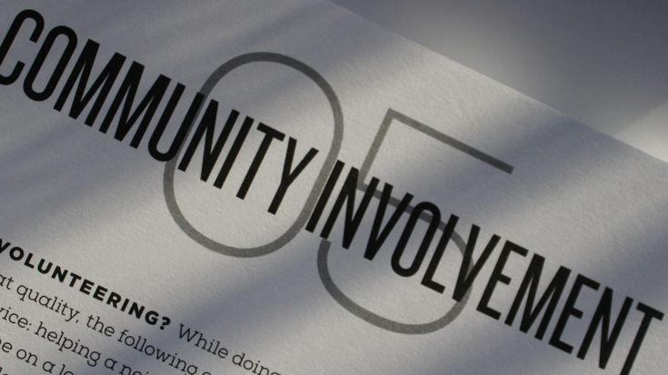 What is the importance of community service ?
