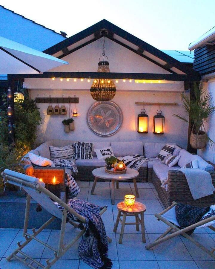 Boheemse stijl tuin en buitenleven ideeën
