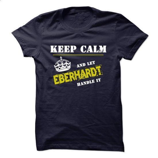 Let EBERHARDT Handle It - #long tee #funny hoodie. MORE INFO => https://www.sunfrog.com/Funny/Let-EBERHARDT-Handle-It.html?68278