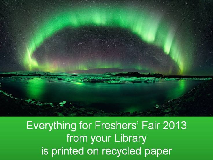 #Recycling is core to what we do. #GreenUniLibrary