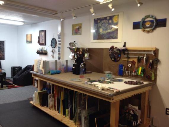 101 best images about art studio ideas on pinterest studio spaces amazing art and sheds - Art studio ideas ...