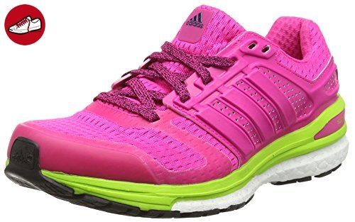 Supernova Sequence 8, Chaussures de Running Entrainement Femme, Rose (Shock Pink/Semi Solar Slime), 37 1/3 EUadidas