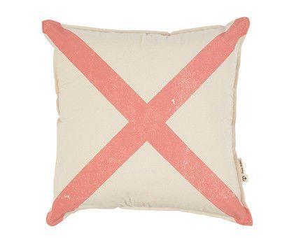 Mr X Cushion – Peach