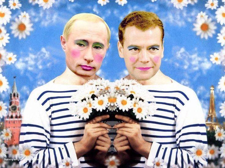 Putin And His Partner