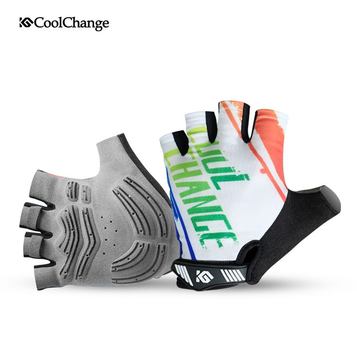 Coolchange Men Women Bicycle Gloves Half Finger Road Mountain Bike MTB BMX Gloves Child Airsoft Parkour Downhill Riding Gloves