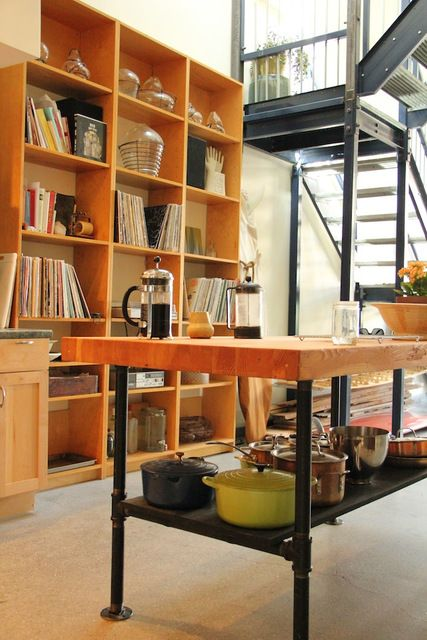 dangerously close to the style I consider PERFECT modern/artisan/rustic/industrial