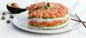 Sushi Taart recept   Smulweb.nl