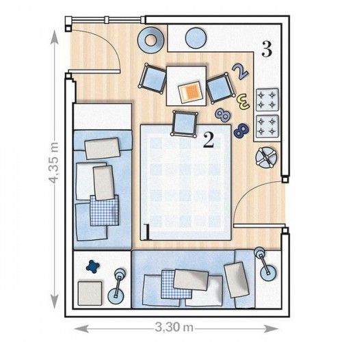 5 Room Designs For Two Boys And Their Layouts