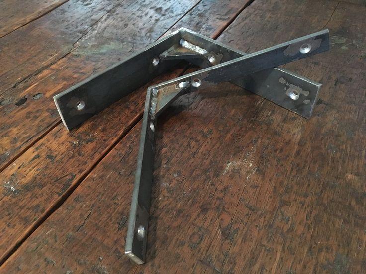 Gusseted Shelf Bracket - wall brackets, metal shelf brackets, shelf bracket