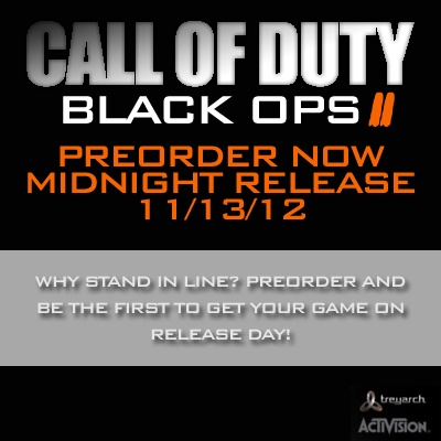 """Fans are gearing up for the next installment in Treyarch and Activision's military first-person shooter franchise. """"Call of Duty: Black Ops 2"""" will be released just in time for the holiday season on Nov. 13th and will take place in a futuristic Los Angeles setting."""