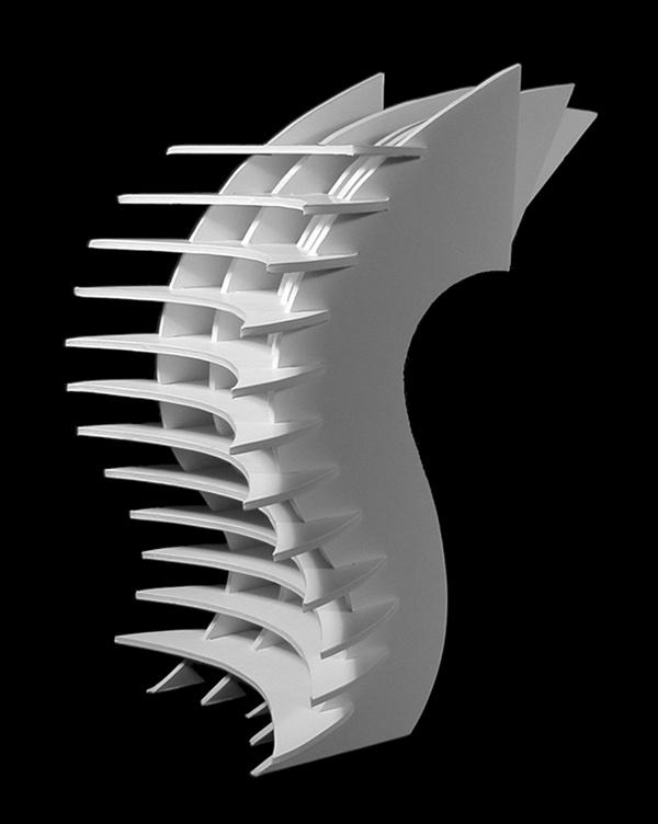 3-D Design by Nicole Bahr, via Behance