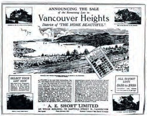 Vancouver Homes Historical Article #vancouver #heights #archive #newspaper #british #columbia