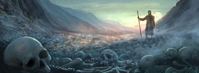 The Prophecy About the Reviving of the Dry Bones—Ezekiel 37:4   Valley of dry bones, Jesus pictures, Ezekiel